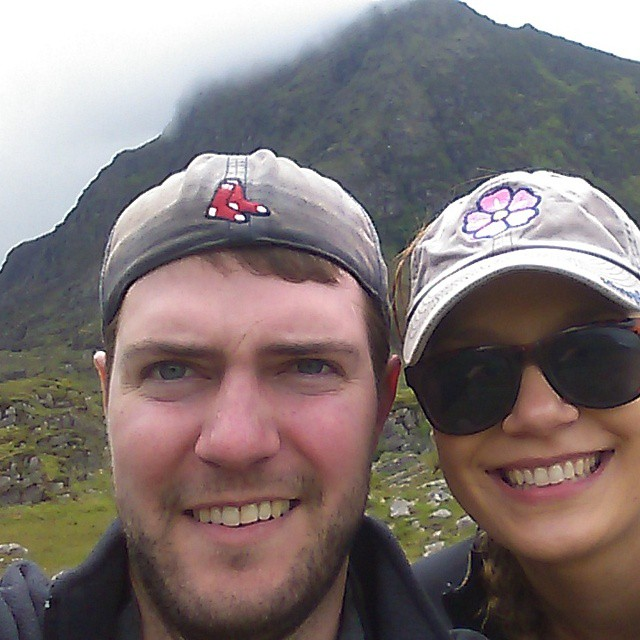 Mastering the selfie at the Gap of Dunloe.